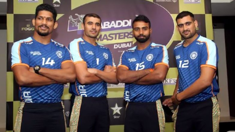 Kabaddi Masters Dubai 2018, India vs Pakistan Live Streaming: TV Channels, Telecast Details & Free Online Options to Watch the Match
