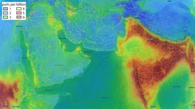 India's Air Quality is Deteriorating and This Picture From Space is Alarming!