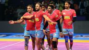 Jaipur Pink Panthers vs Bengal Warriors PKL 2019 Match Free Live Streaming and Telecast Details: Watch JAI vs BEN, VIVO Pro Kabaddi League Season 7 Clash Online on Hotstar and Star Sports