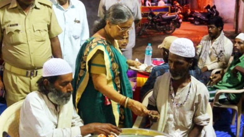 Jashodaben, PM Narendra Modi's Wife, Attends Iftar Party in Ahmedabad; See Pics