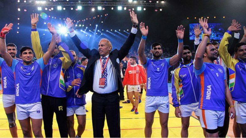 Kabaddi Masters Dubai 2018: India Beat Pakistan 36-20 in the Opening Match