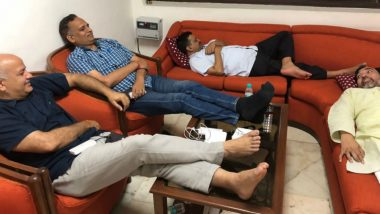 Arvind Kejriwal, 3 Other Delhi Ministers on Dharna Against IAS Officers' Strike, Spend the Night at L-G Anil Baijal's Office