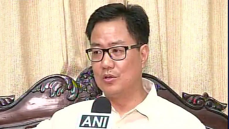 Refugees Coming to India From 'Tamil Nadu', Says Kiren Rijiju in Lok Sabha, Corrects Error After Uproar; Watch Video