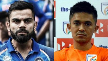 Virat Kohli Supports Sunil Chhetri, Wants Fans to Cheer for Indian Football Team in the Stadium