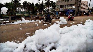 Bellandur Lake Froths 10-ft High Toxic Foams, Bengaluru Residents Fume at JD(S)-Congress Govt