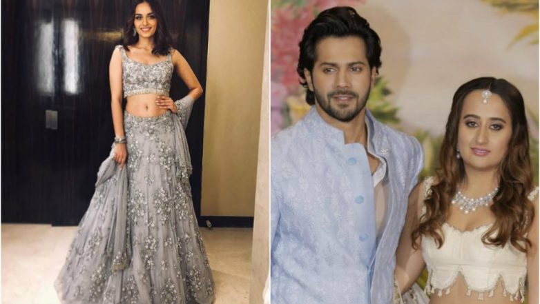 Manushi Chhillar Lives Her Princess Moment in Varun Dhawan's Girlfriend Natasha Dalal's Label (View Pics)