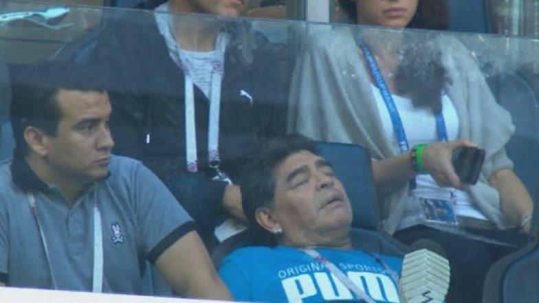Diego Maradona Death Hoax: WhatsApp Voice Message Saying Argentina Football Legend Dies of Cardiac Arrest is Fake!