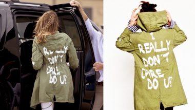 'I Really Don't Care' Jacket Had a Message, Says Melania Trump
