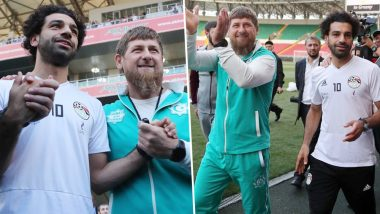 2018 FIFA World Cup: Mohamed Salah's Photo With Chechnya's Ramzan Kadyrov Evokes Sharp Reactions on Social Media