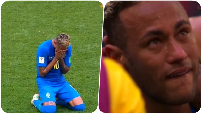 2018 FIFA World Cup Video Diaries: Brazil's Neymar Jr Sheds Tears of Joy After Scoring a Goal Against Costa Rica