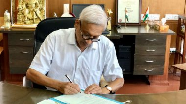 Manohar Parrikar Health Update: Goa CM Resumes Work in the State Secretariat, View Pics