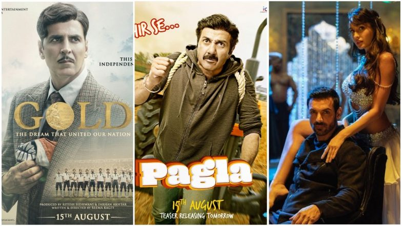 Akshay Kumar's Gold, Sunny Deol's Yamla Pagla Deewana Phir Se or John Abraham's Satyamev Jayate - Which Movie Are You Rooting For This Independence Day?