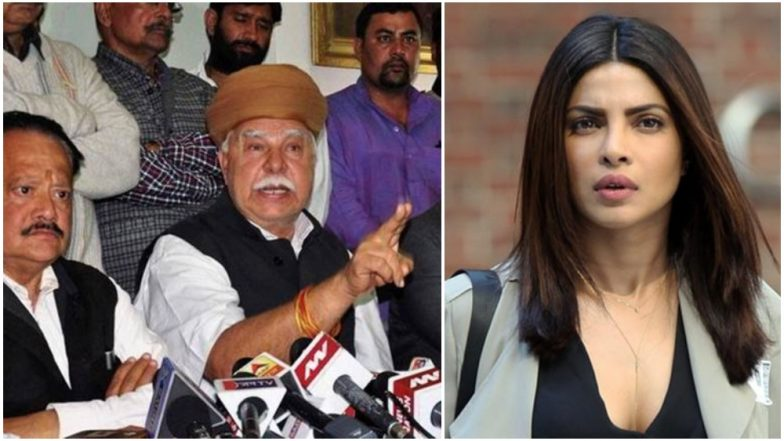 'Padmaavat' Protestors Karni Sena Targets Priyanka Chopra Over 'Quantico' Outrage; Calls Her 'Anti-National'