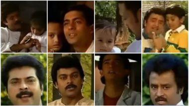 This Old Song Features Salman Khan, Aamir Khan, Anil Kapoor, Rajinikanth Along With Little Ranbir Kapoor, Sonam and Tiger Shroff! - Watch Video