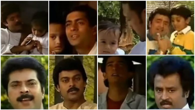 This Old Song Features Salman Khan, Aamir Khan, Anil Kapoor, Rajinikanth Along With Little Ranbir Kapoor, Sonam and Tiger Shroff! - Watch Video