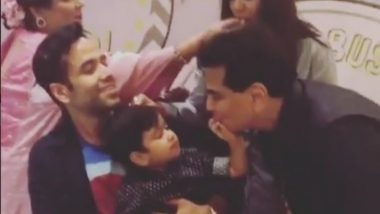 Tusshar Kapoor Shares an Incredibly Cute Video of Laksshya and Jeetendra Dancing at the Little One's Birthday Bash – Watch Here