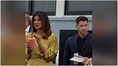 Priyanka Chopra and Nick Jonas SPOTTED At A Friend's Wedding; Are They Really Dating Or This Just Another PR Stunt?