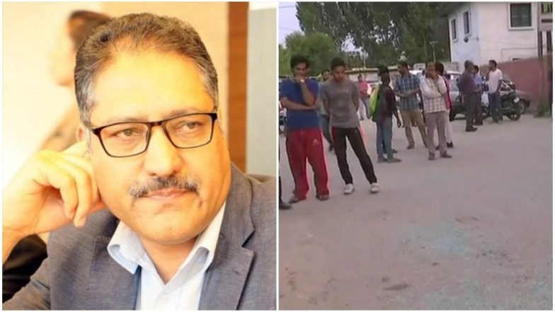 Shujaat Bukhari, Editor of Rising Kashmir Shot Dead by Terrorists in Srinagar's Press Colony in Jammu and Kashmir