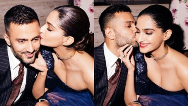 We Cannot Get Over the Newlyweds Sonam Kapoor and Anand Ahuja's PDA at a Recent Party