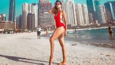 Kishwer Merchantt Turns Up the Heat in a Hot Red Bikini – View Pic