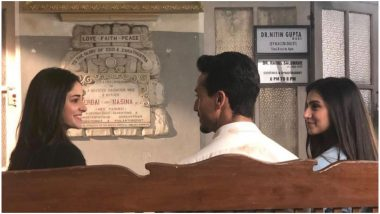 Student of the Year 2 New Still: Why Are Tiger Shroff, Tara Sutaria and Ananya Panday Sitting in Front of A Gynaecologist's Office?
