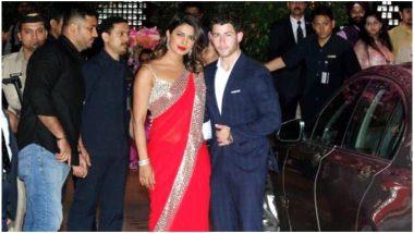Priyanka Chopra and Nick Jonas Walking Hand-in-Hand at Akash Ambani-Shloka Mehta's Engagement Ceremony Is Giving Us Major Couple Goals - Watch Video