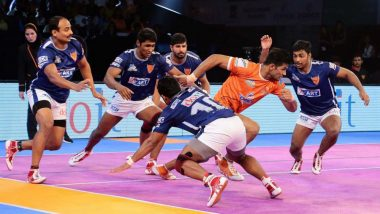 Dabang Delhi vs Gujarat FortuneGiants, PKL 2018-19 Match Live Streaming and Telecast Details: When and Where To Watch Pro Kabaddi League Season 6 Match Online on Hotstar and TV?