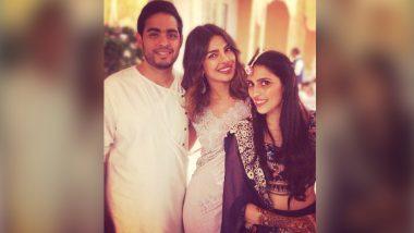 Akash Ambani & Shloka Mehta Pre-Engagement Party: Priyanka Chopra Shares an Adorable Picture with the Couple