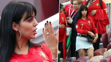 2018 FIFA World Cup Diaries Pics: Cristiano Ronaldo's Girlfriend Georgina Rodriguez Spotted With a Huge Ring; Sparks Engagement Rumours