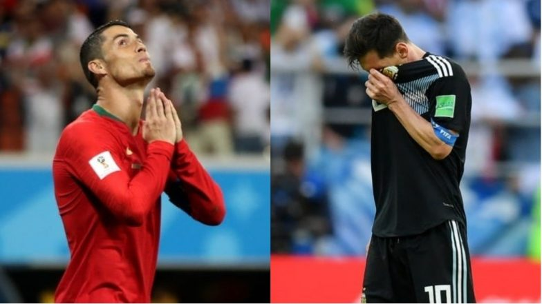 Messi, Ronaldo bow out in dramatic knockout openers