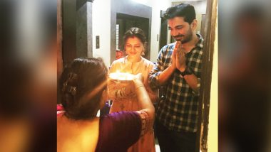 Rubina Dilaik and Abhinav Shukla Begin Their Married Life in Their New Home – View Pic