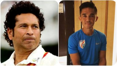 Sachin Tendulkar Supports Sunil Chhetri and Indian Football: Let's Fill in the Stadiums & Support our Teams