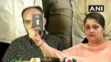 Tanvi Seth's Passport Cleared As Per Rules After Police Verification, Lucknow RPO Says No Criminal Case Against Inter-Faith Couple
