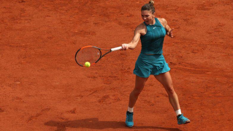 Halep Live Gallery: Simona Halep Vs Angelique Kerber French Open 2018 Live