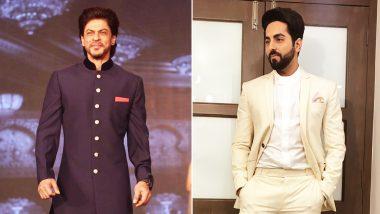 Ayushmann Khurrana Has Written A Script For Shah Rukh Khan?