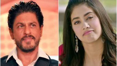 Janhvi Kapoor Gives the Best Actor Award to Shah Rukh Khan (Watch Throwback Video)