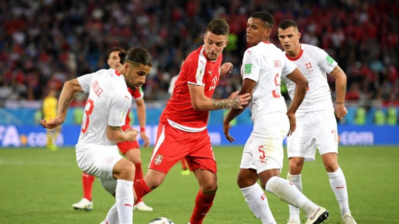 Serbia vs Switzerland Match Result and Video Highlights: Xherdan Shaqiri's Last Minute Goal Helps Switzerland get Past Serbia