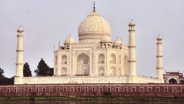 Taj Mahal's Main Entrance Littered With Plastic Bottles And Shoe Covers (Watch Video)