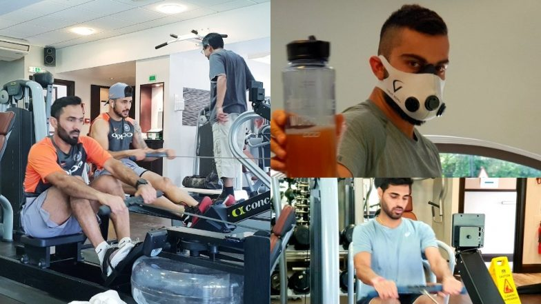 India vs Ireland T20I 2018: Virat Kohli and Co Sweat It Out in the Gym Ahead of the Series