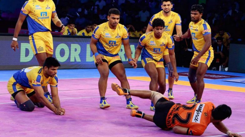 Gujarat FortuneGiants vs Tamil Thalaivas, PKL 2018-19 Match Live Streaming and Telecast Details: When and Where To Watch Pro Kabaddi League Season 6 Match Online on Hotstar and TV?