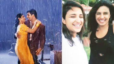 Akshay Kumar's Exes Priyanka Chopra and Raveena Tandon Bond Over 'Tip Tip Barsa Pani' Song!