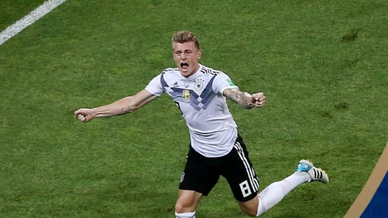 Watch Toni Kroos' Winning Free Kick Goal Video against Sweden to Keep Germany Alive in 2018 FIFA World Cup in Russia