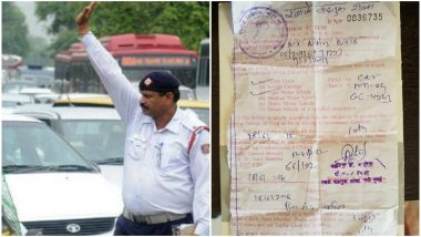 Giving Lift to Strangers or Carpooling is Illegal? Mumbai Man Fined Rs. 2000! Shares His Encounter with Strange Traffic Law on Facebook