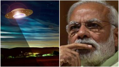 UFO Spotted Near PM Narendra Modi's House, Security Finds Nothing But Twitterati Has Funny Speculations!