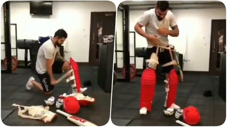 Virat Kohli Accepts #KitUpChallenge From Sachin Tendulkar; Nominates Parthiv Patel Watch Video