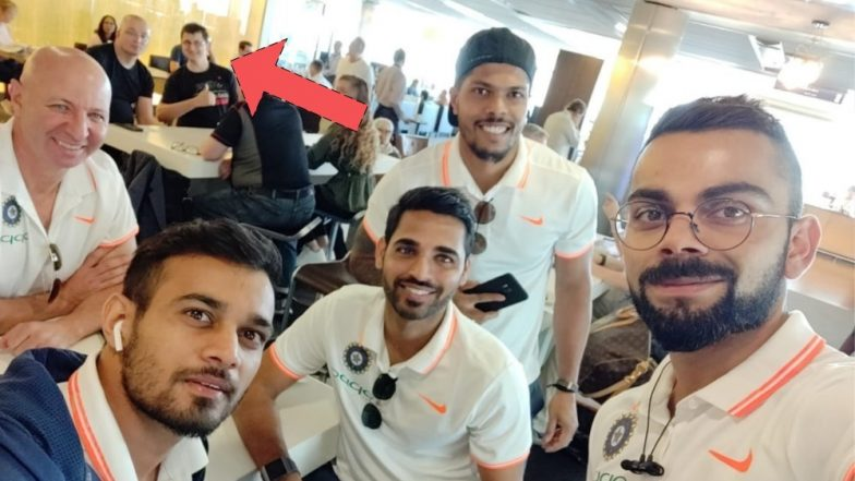 IND vs IRE T20I Series 2018: A Stranger Photobombed Virat Kohli and the Indian Captain Took Notice of It