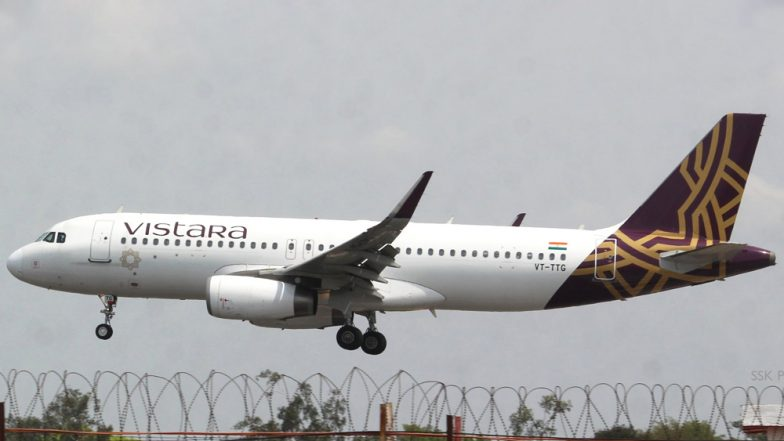 Vistara Airlines Adds 62 New Flights, Announces its 48-Hour 'Monsoon Sale'; Check Details Here