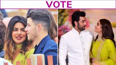 Priyanka Chopra-Nick Jonas or Alia Bhatt-Ranbir Kapoor: Which Couple Are You Vouching For? Vote Now