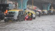 Mumbai Rains Pics And Videos: Parts of City Flooded Amid Intense Rainfall, Netizens Share Visuals of Waterlogging