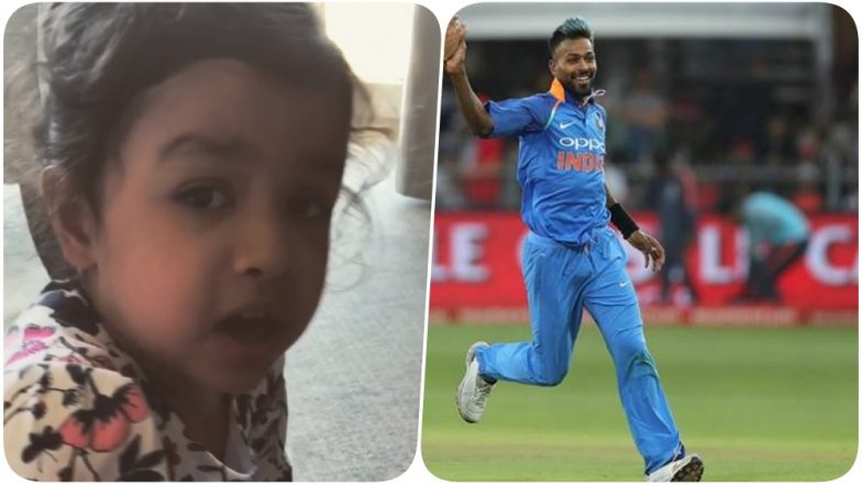 India Tours UK Video Diaries: MS Dhoni's Daughter Ziva Cheers For Hardik Pandya